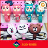 Colorful cartoon cable winder / earphone cable holder / cord holder