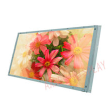 Slim TFT LCD Panel 27 inch Kiosk Touch Screen Industrial Display Monitor