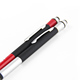 Jiangxin Carbon fiber capacitive touch stylus pen with led light ball pen for women
