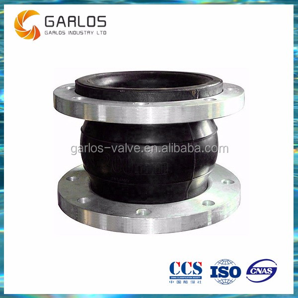 JGD High temperature stainless steel flexible rubber pipe expansion joint