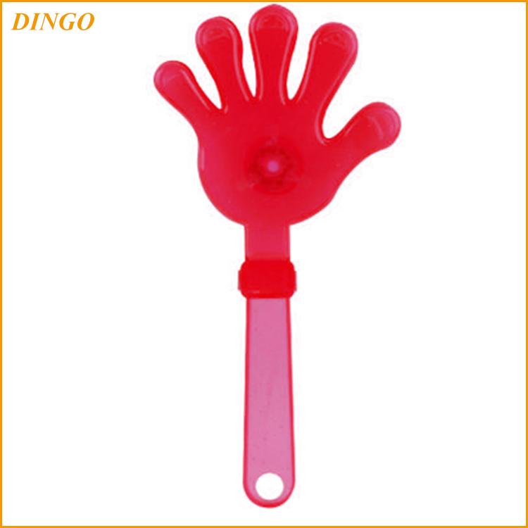 Дешевый футбольный вентилятор Хлопушки пластиковый ручной хлопушки