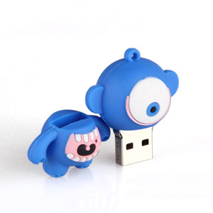 Funny Giveaway Cartoon Character Customized Eye Shaped USB Flash Drive