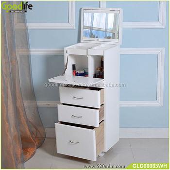 Nouvelle arriv e en bois miroir armoire de rangement pour maquillage dans la chambre buy - Miroir dans la chambre ...