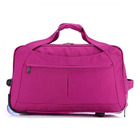Hot Selling Women Travel Luggage Bag Laptop Compartment Trolley Bag with Clear Wheels