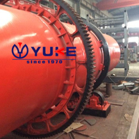 High Capacity Rotary Double Drum Dryer For Sand, Coal, Wood Chips, Clay, Slag