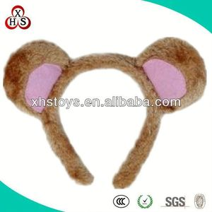 Factory Price Cheap Super Soft Fabric Bear Ears Headband For Sale