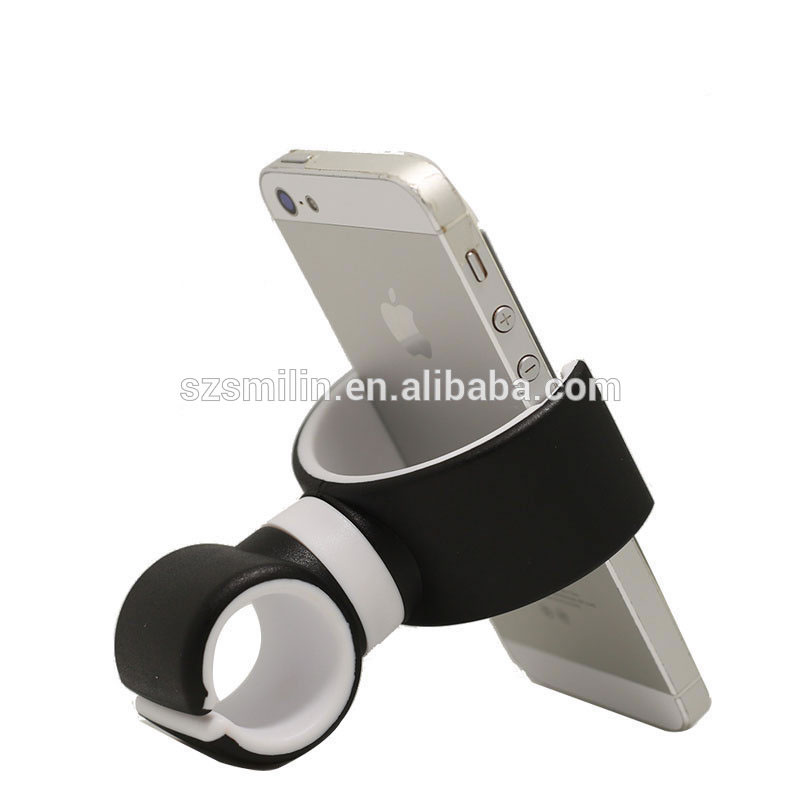 <strong>Phone</strong> Accessories Portable Double C Mobile <strong>Phone</strong> <strong>Holder</strong> Silicone <strong>Car</strong> Mount <strong>Phone</strong> <strong>Holder</strong> for Bike