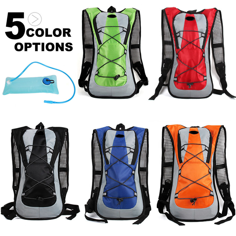 Outdoor Camping Cycling Hiking Backpack Hydration Backpack with water bladder