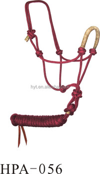 hot sales horse halter with lead rope