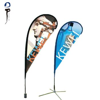 Wholesale custom high temperature open feather flag custom flag maker