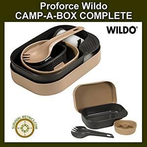 Wildo Proforce Complete Camp-A-Box Olive by Wildo