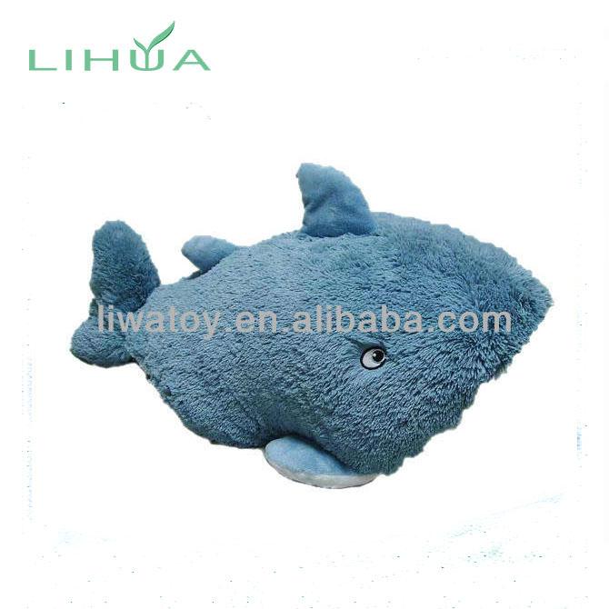 Cute Whale Shark Doll Sea Animal Big Shark Blue Whale Plush Toy Big Size Demand Exceeding Supply Dolls & Stuffed Toys