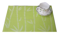 High Quality Woven Table mat/ PVC Woven Placemat/Vinyl Tablemat