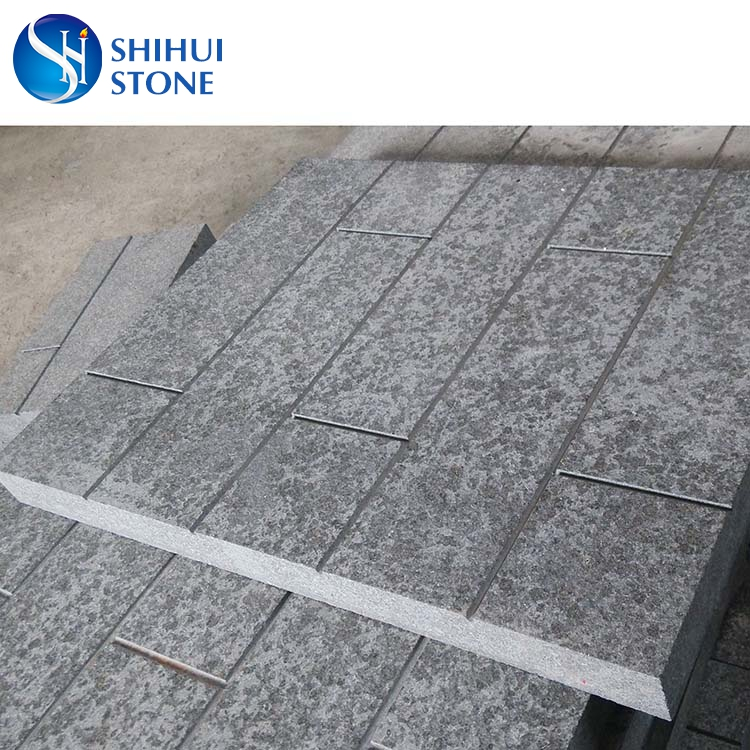 Popular Construction Flamed Basalt Stone(G684)for Outdoor Stone Floor Tiles