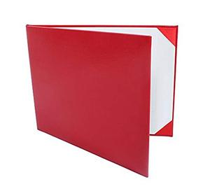 Most popular diploma holder with leather cover, A4 size leather Certificate holder