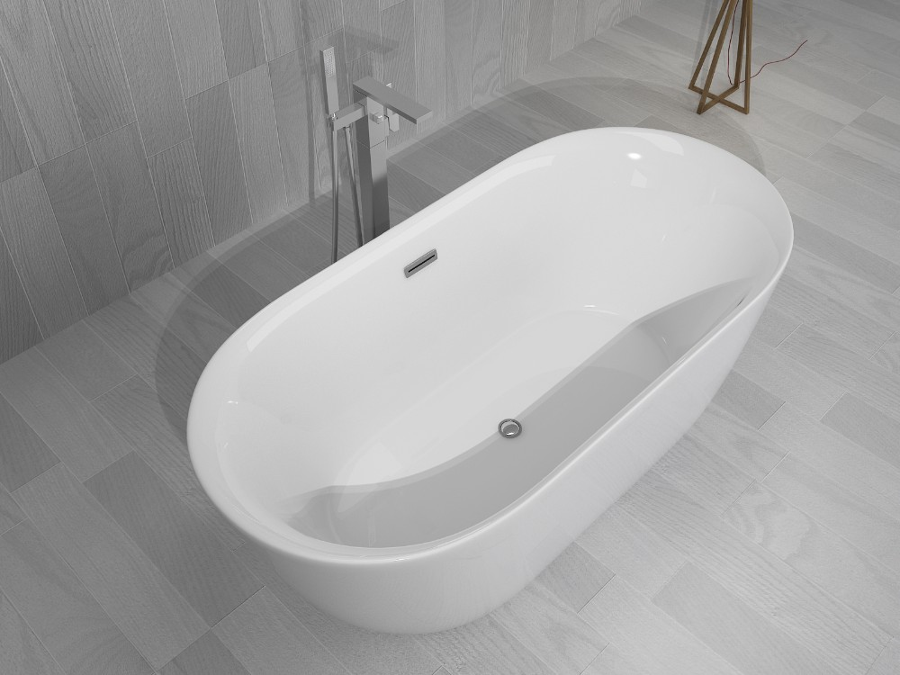 European Classic Royal Acrylic Soaking Bathtub Japanese