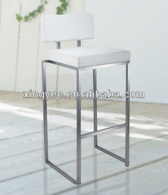 Stackable Bar Stool Modern Bar Furniture Kitchen High Chair Metal Stainless Steel Leather Counter High Chair Bar Stools - Buy Chair BarBar FurnitureHigh ... & Stackable Bar Stool Modern Bar Furniture Kitchen High Chair Metal ... islam-shia.org