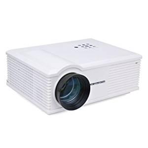 LightInTheBox WXGA 3200 Lumens LCD Projector with HDMI Input TV Tuner (PH580)Home Video Movie Theater Mini Projectors, Color=Black
