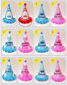 Aibokang Best Selling Cheap Paper Birthday Party Hat Ideas For