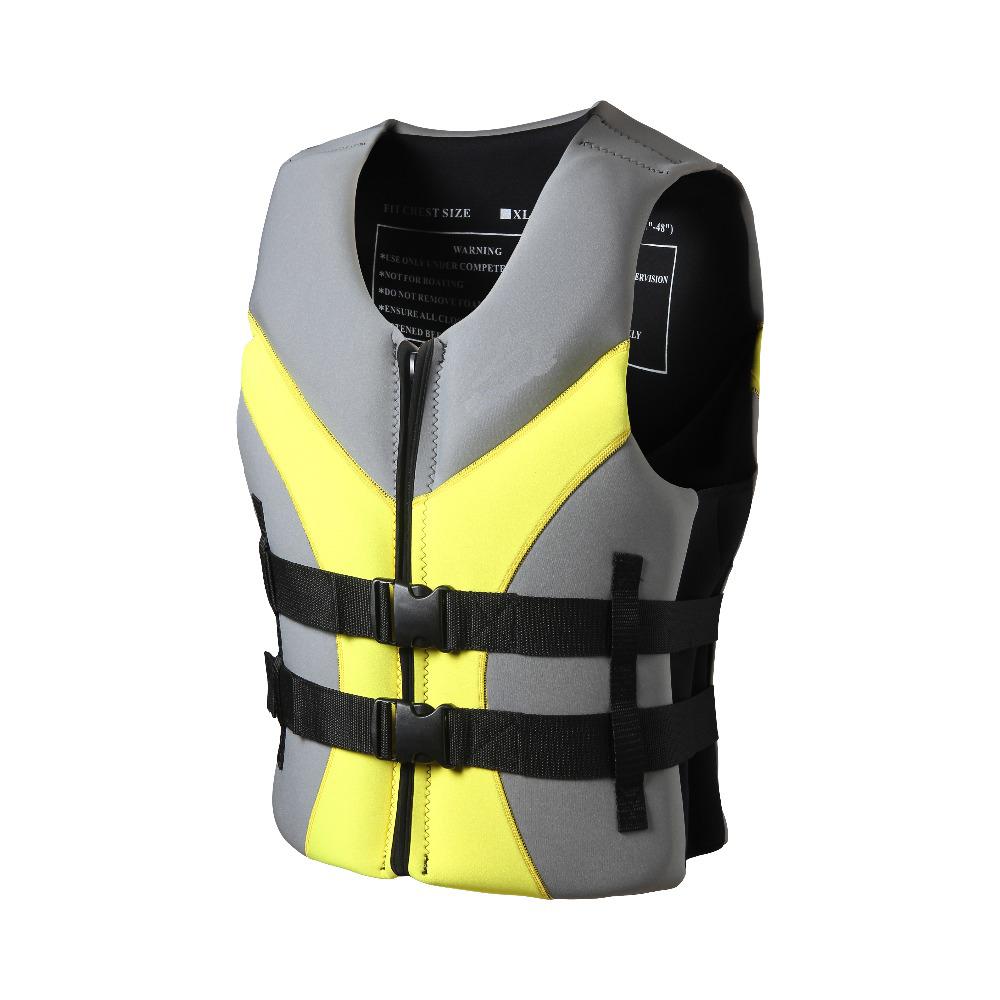 Hot Selling Custom Logo Life Jacket Safety Life Vest Neoprene