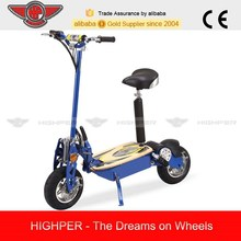 1300W 48V Brushless 2 Wheel Electric Scooter with Seat (HP107E-C)