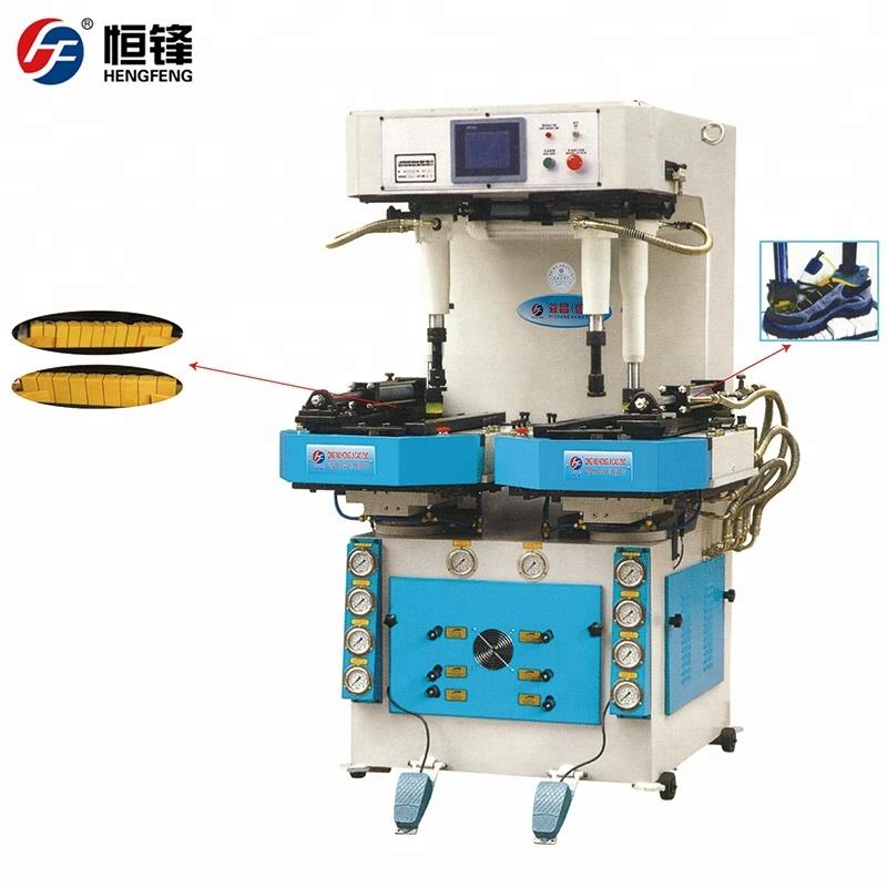 Pu Nylon Leather Shoes Sole Making Machine Quanzhou Factory Price Sole  Attaching Machine - Buy Sole Attaching Machine,Shoe Sole Machine,Pu Shoe  Making