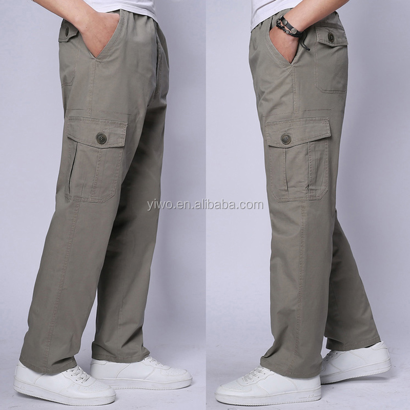 New style casual outdoor wholesale 6 pocket men's cargo pants