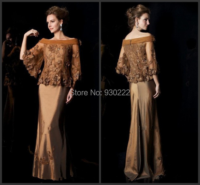 Bronze Colored Mother Of The Bride Dresses 8
