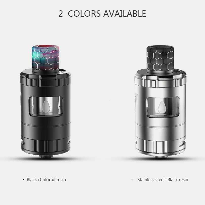 Stock Desire Design 2ml  Stainless Steel and Resin Squonky Tank Vape Atomizer For Desire RAGE Squonk Vape Mod Starter Kit Box