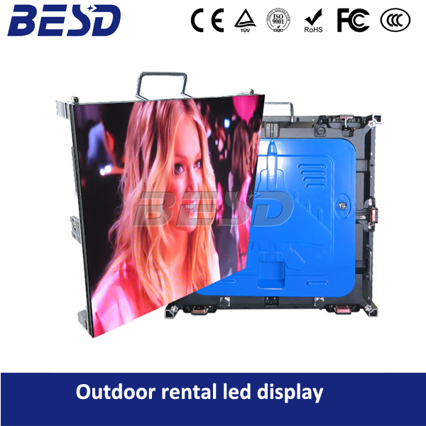 Factory direct price small pixel outdoor event stage led display p5 rental video led wall for outdoor usage