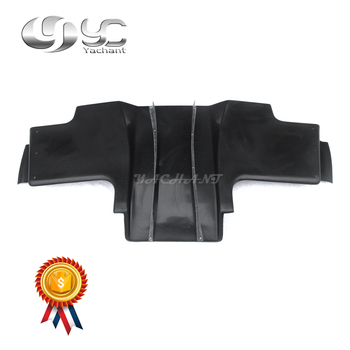 Trade Assurance FRP Fiber Glass Rear Diffuser with Blade 5 pcs Fit For 1992-1997 RX7 FD3S RE Pro Style Rear Underboard Diffuser
