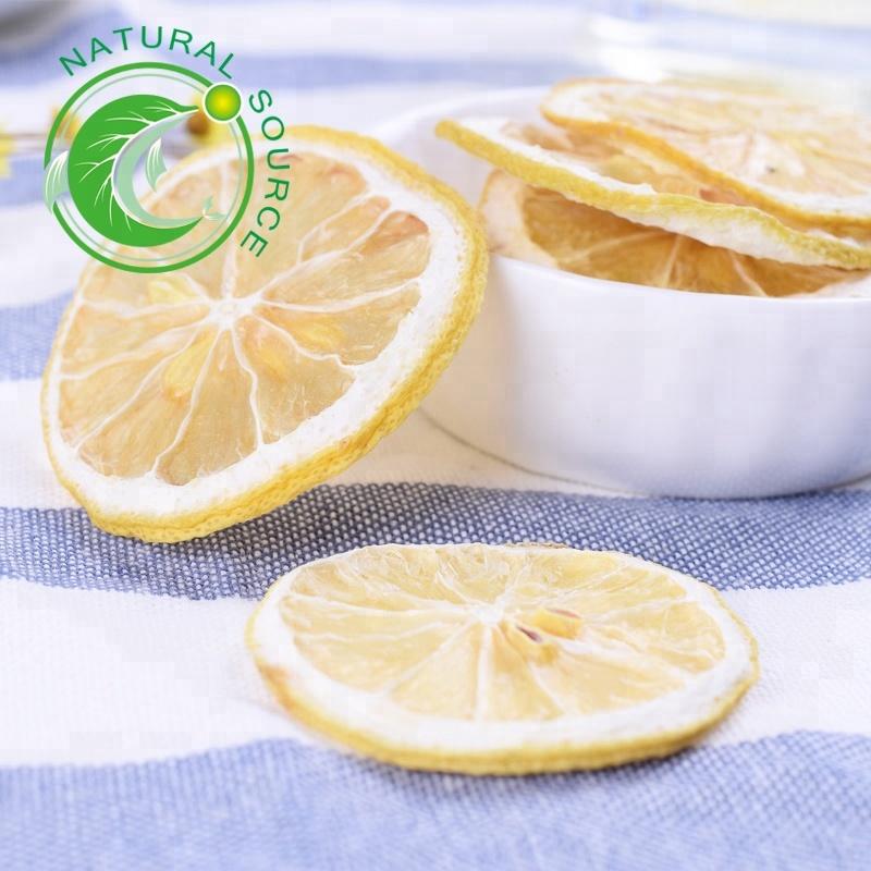 Hot Selling China Supply High Vitamin C New Organic Yellow Dried Lemon Slices For Tea - 4uTea   4uTea.com