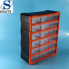 Factory price 18 Drawers repair use plastic room organizer parts spare tool box