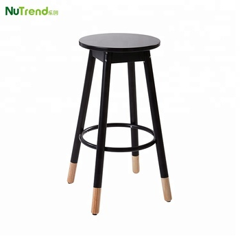Brilliant Wooden Simple Cheap Bar Stool High Chair With 2 Tone Leg Design Buy Bar Stool Bar Stool High Chair Cheap Bar Stool Product On Alibaba Com Dailytribune Chair Design For Home Dailytribuneorg