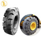 wholesale TianLun brands wheel and tire solid rubber truck tire