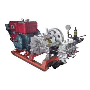 BW-160 Model Three Cylinder Big Flow Mud Pump For Water Well Drilling Use