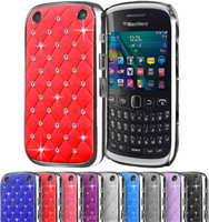 Diamond Bling Hard Back Case Cover For BlackBerry Curve 9220
