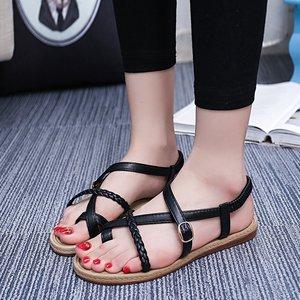 a5cd7d702b78f New Pu Ladies Flat Sandals