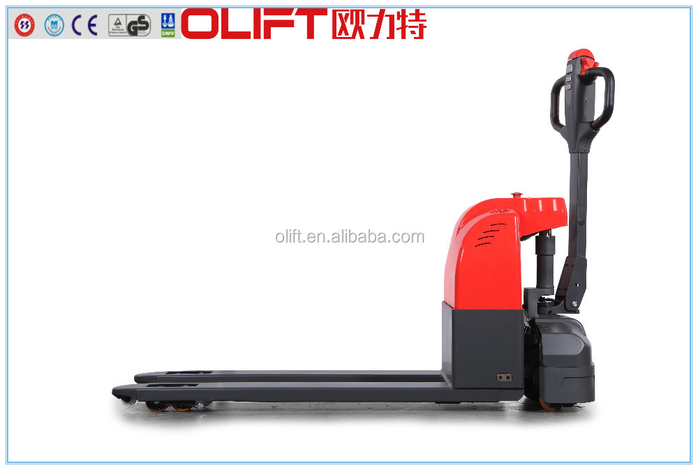 mini type electric pallet truck yale with CE, ISO, SGS certificates