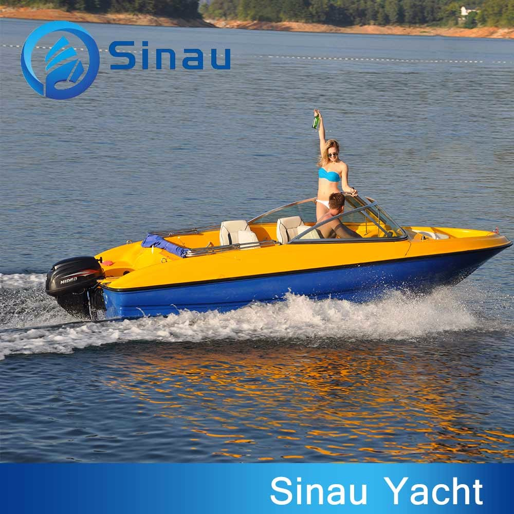 18ft fiberglass fishing motor boat speed outboard for Trolling motor for 18 foot boat