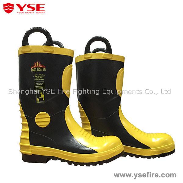 Fireman retardant shoes for firefighting fire UHAUBq