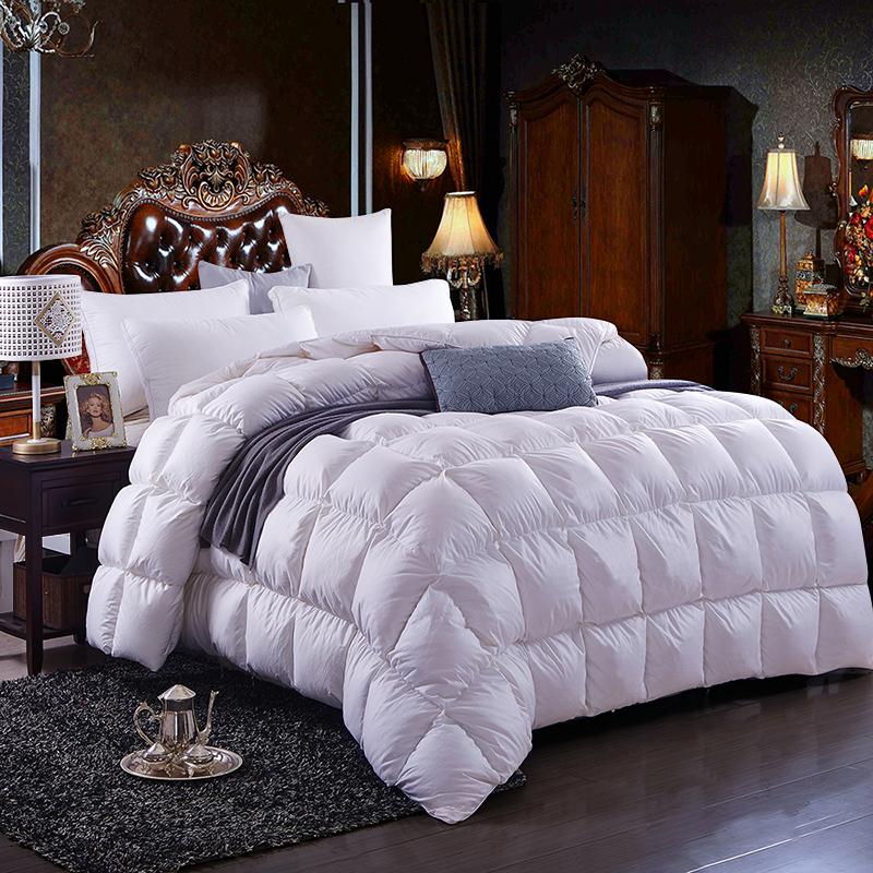 100 blanc plumes de canard bien au chaud duvet de canard. Black Bedroom Furniture Sets. Home Design Ideas