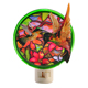 Round hummingbird led home decor pulg in straight night light