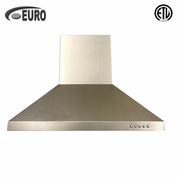 750mm European Style Wall Mounted Kitchen Chimney Exhaust Fan Italian Range Hood