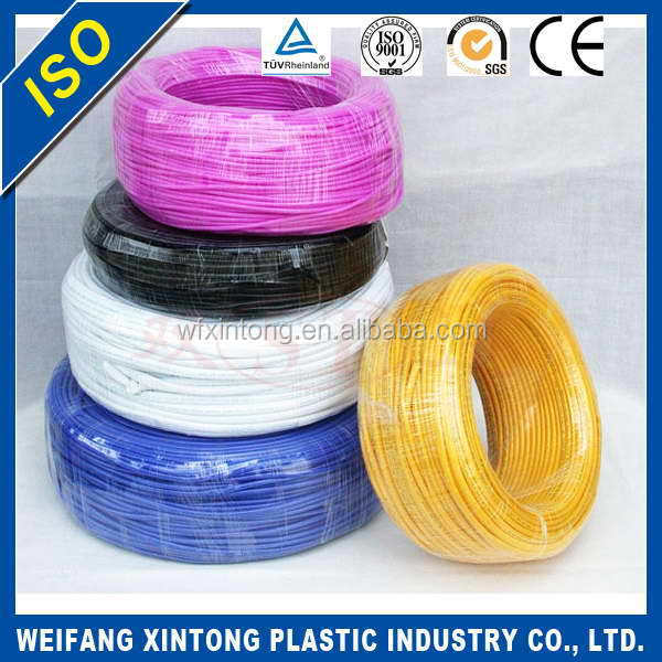 China gold supplier High-ranking flat pvc coated electrical conduit