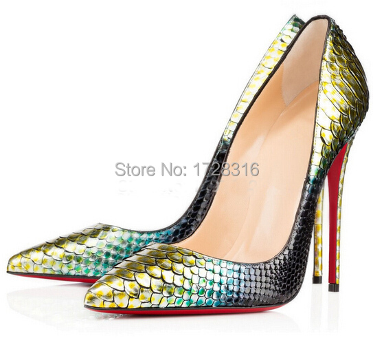 dfe45146c91e Get Quotations · 2015 So kate Python pumps Golden patent leather high heels  120mm sexy women shoes wedding pumps