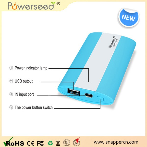 Electrical equipment supplies power bank water proof solar powered mobile charger