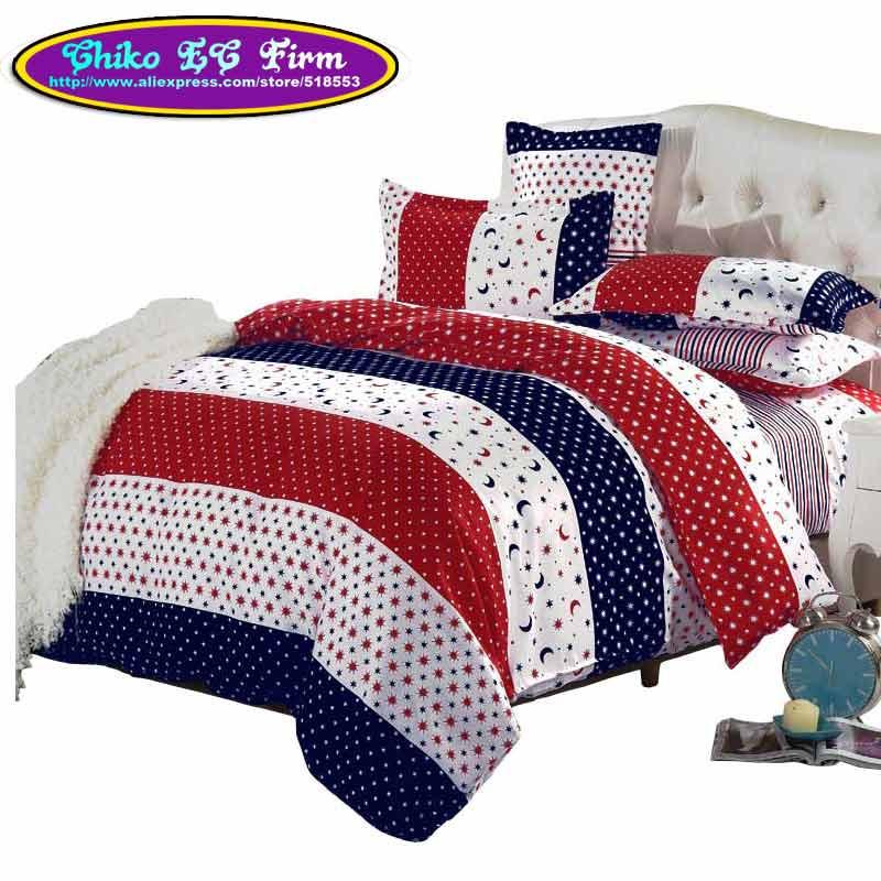 stars and moon design duvet cover set 3pcs 4pcs housse de couette tournesol twin full queen. Black Bedroom Furniture Sets. Home Design Ideas