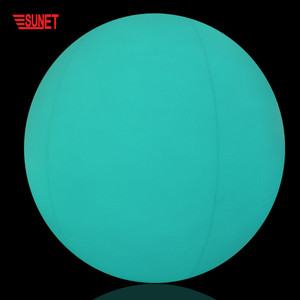 New Product Custom Inflatable Led Round Ball Outdoor Light, Led Glow Swimming Pool Ball