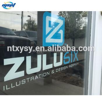 Weatherproof Outdoor Glass Door Pvc Stickers For 8years Buy Glass
